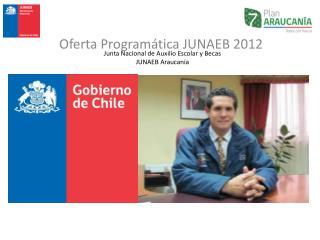 Junta Nacional de Auxilio Escolar y Becas JUNAEB Araucan a