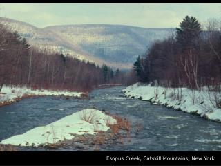 Esopus Creek, Catskill Mountains, New York