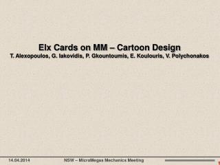 Elx Cards on MM  – Cartoon Design