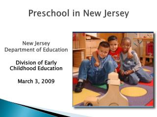 Preschool in New Jersey