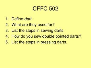 CFFC 502
