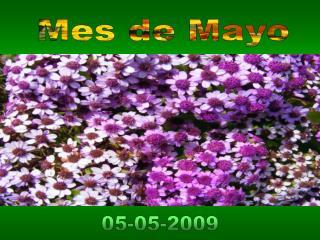 Mes de Mayo