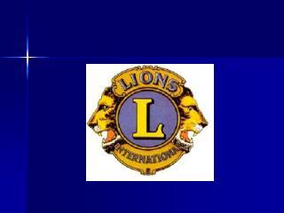 RAHVUSVAHELINE LIONS KLUBIDE  ORGANISATSIOONI EESTI PIIRKOND D - 120