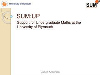 SUM:UP