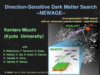 Direction-Sensitive Dark Matter Search  --NEWAGE--