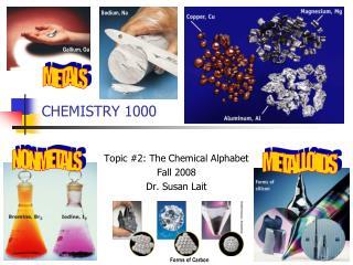 CHEMISTRY 1000