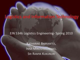 Logistics and Information Technology