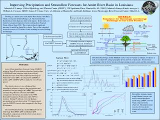 Improving Precipitation and Streamflow Forecasts for Amite River Basin in Louisiana