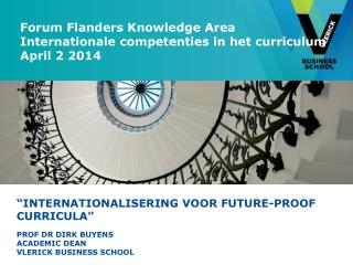 """ Internationalisering voor  future-proof curricula"""