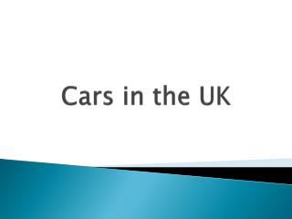 Cars  in  the  UK