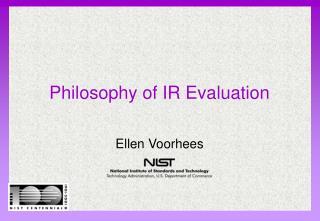 Philosophy of IR Evaluation