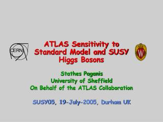 ATLAS Sensitivity to Standard Model and SUSY Higgs Bosons