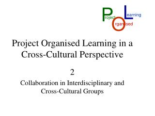 Project Organised Learning in a Cross-Cultural Perspective