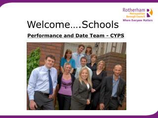 Welcome….Schools