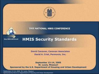 HMIS Security Standards