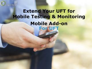Mobile Add-on For UFT