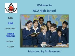 ACU High School