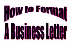 How to Format