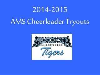2014-2015 AMS Cheerleader Tryouts