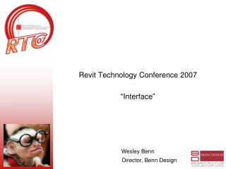 "Revit Technology Conference 2007 ""Interface"""
