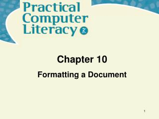 Formatting a Document