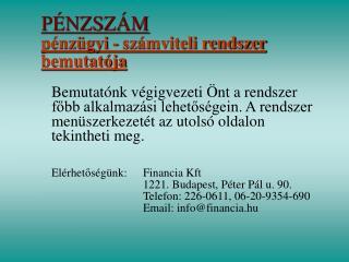 P NZSZ M                                                                 p nz gyi - sz mviteli rendszer bemutat ja