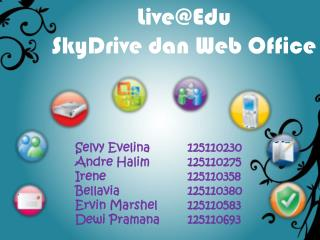 Live@Edu SkyDrive dan  Web Office