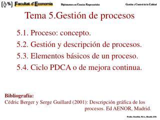 Tema 5.Gestión de procesos