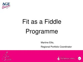 Fit as a Fiddle Programme
