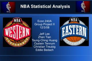 NBA Statistical Analysis