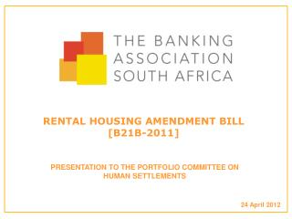 RENTAL HOUSING AMENDMENT BILL  [B21B-2011]