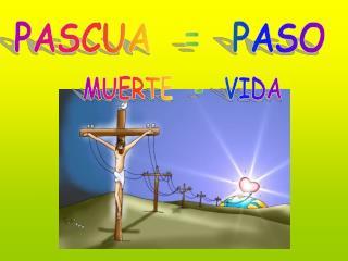 PASCUA  =  PASO