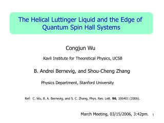 The Helical Luttinger Liquid and the Edge of  Quantum Spin Hall Systems