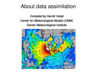 About data assimilation