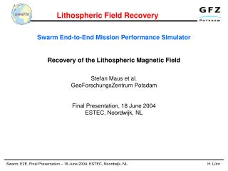Swarm End-to-End Mission Performance Simulator