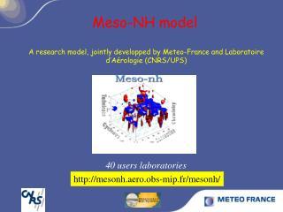 Meso-NH model