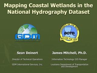 Mapping Coastal Wetlands in the National Hydrography Dataset