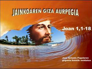 Joan 1,1-18