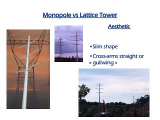 Monopole vs Lattice Tower
