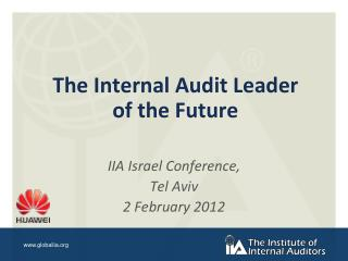 The Internal Audit Leader of the Future