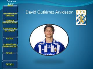 David Gutiérrez Arvidsson
