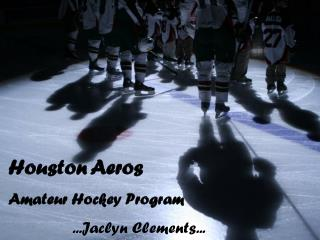 Houston Aeros Amateur Hockey Program 		...Jaclyn Clements...