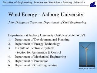 Wind Energy - Aalborg University