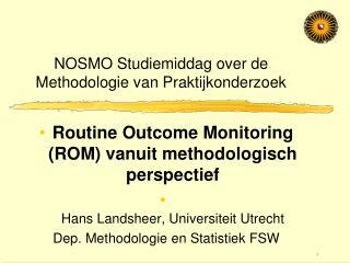 NOSMO Studiemiddag over de Methodologie van Praktijkonderzoek