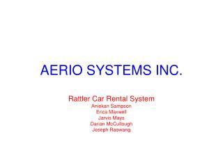 AERIO SYSTEMS INC.