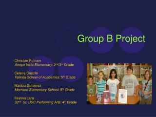 Group B Project