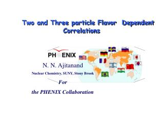 Two and Three particle Flavor  Dependent Correlations