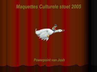 Maquettes Culturele stoet 2005