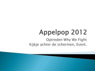 Appelpop  2012