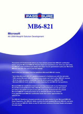 MB6-821